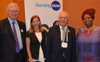 Un instante del Congreso Internacional de Enfermería en Singapur | Foto: CGE