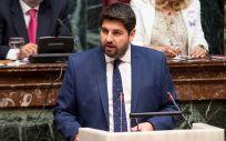 Fernando López Miras, presidente de la Región de Murcia en funciones / Foto: @PPRMurcia