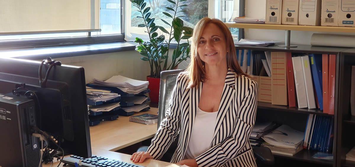 La técnica superior en evaluación de tecnologías de la Agencia Gallega de Conocimiento en Salud (ACIS), Leonor Varela Lema, escogida como una de las directoras del Consejo de Dirección en el Comité Ejecutivo de la HTAi. / Foto: Xunta