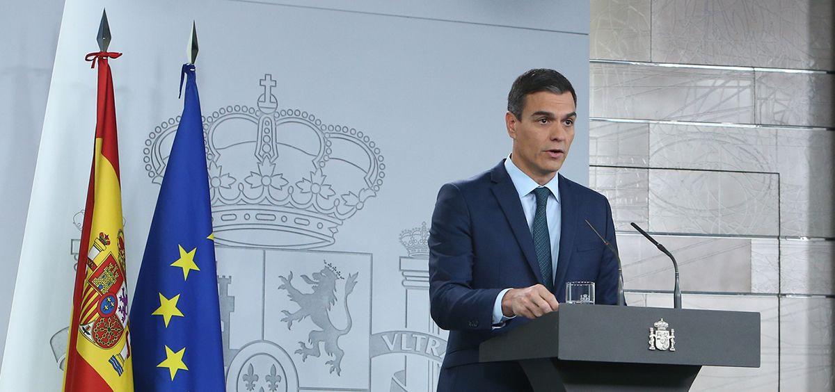 Pedro Sánchez, presidente del Gobierno en funciones / Foto: La Moncloa