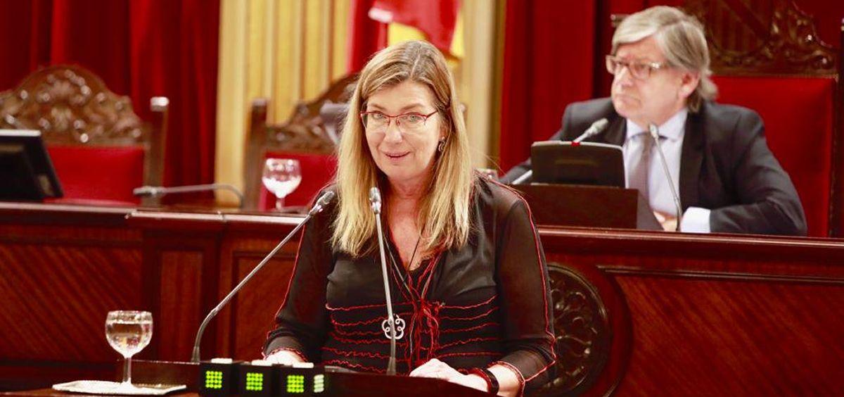 Patricia Gómez, consejera de Salud de Baleares. (Foto. Twitter @Patgompic)