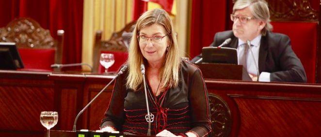 Patricia Gómez, consejera de Salud de Baleares (Foto: Twitter @Patgompic)