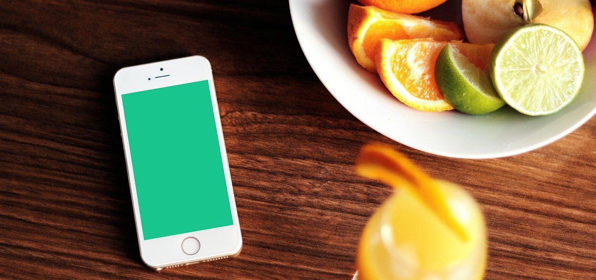Nuevas tecnologías y dieta saludable   Foto: Pixabay