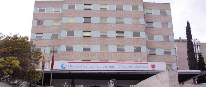 Fachada del Hospital General Universitario Gregorio Marañón (Foto. Comunidad de Madrid)