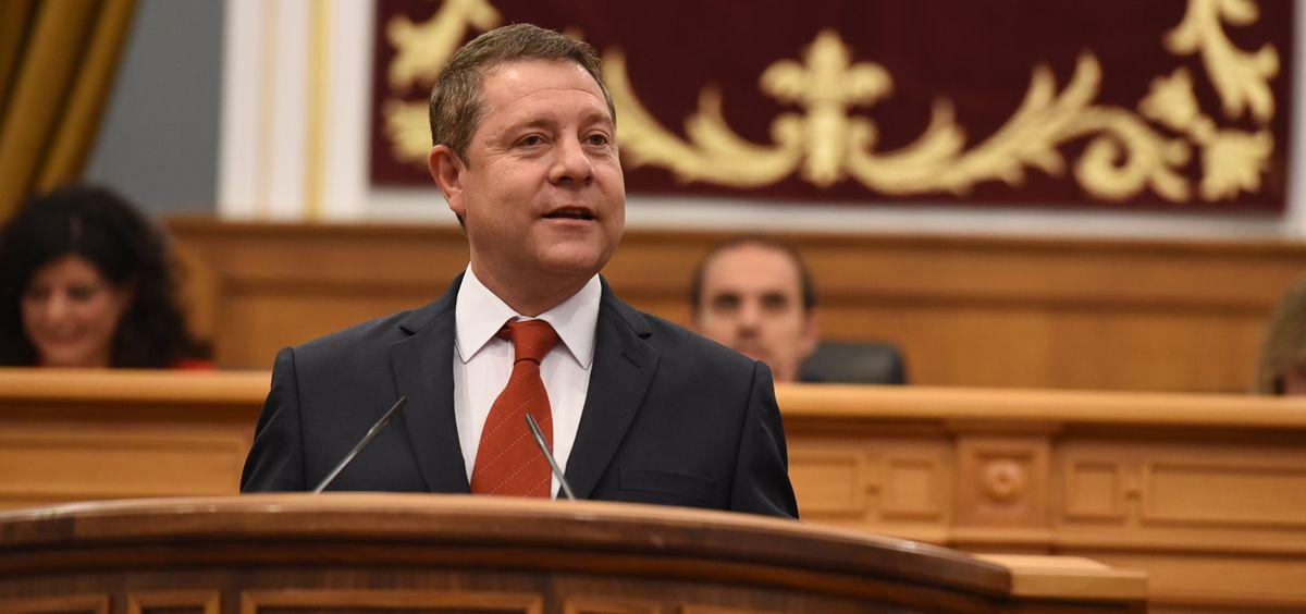 Emiliano García Page, presidente de Castilla La Mancha (Foto. José Ramón Márquez - JCCM)