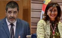 Mitadiel y Carlota Amigo, posibles consejeros de Sanidad en Castilla y León (Fotomontaje ConSalud)