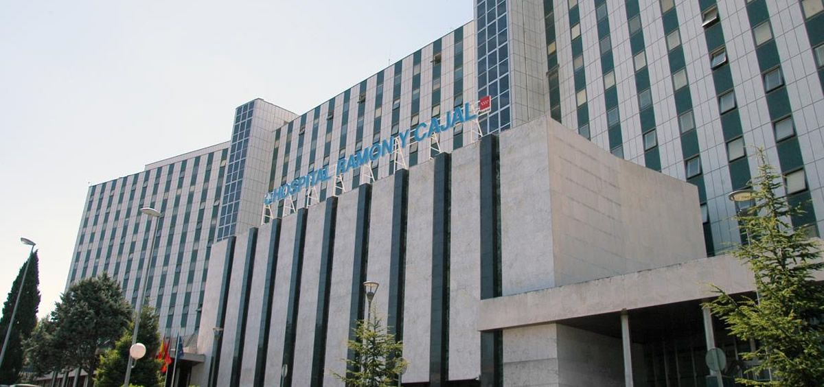 Fachada del Hospital Universitario Ramón y Cajal (Foto. Comunidad de Madrid)
