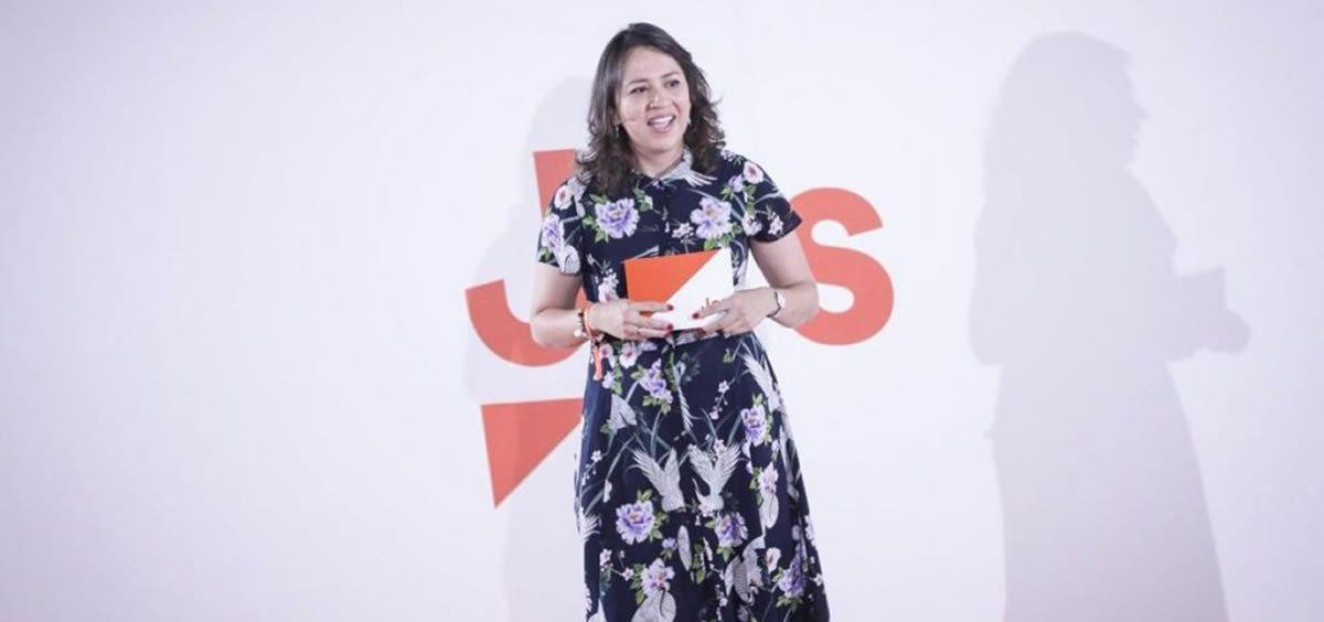 La diputada de Cs Yaneth Giraldo (Ciudadanos Cortes Valencianas)