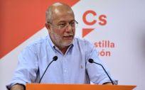 Francisco Igea, líder de Ciudadanos en Castilla y León / Foto: @CsCastillayLeon