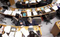 Imagen de parlamentarias en las Cortes de Aragón. / Foto: Flickr Cortes de Aragón