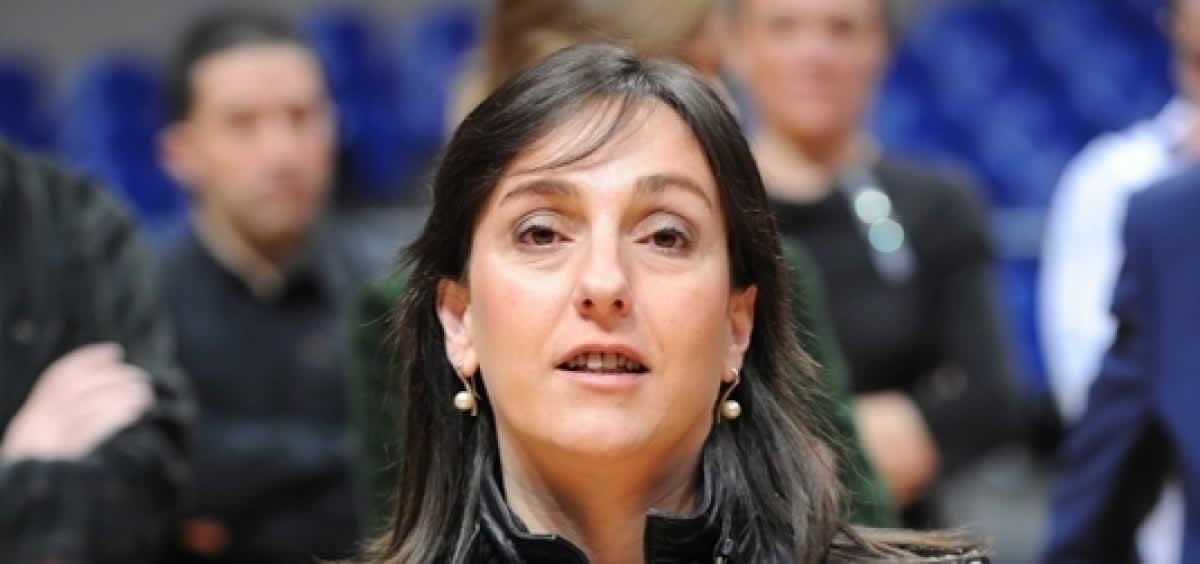 La viceconsejera de Administración y Financiación Sanitarias, Fátima Ansotegi. / Foto: PNV