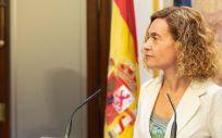 Meritxell Batet, presidenta del Congreso de los Diputados / Foto: Congreso.es