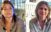 Belén Crespo y María Jesús Lamas, exdirectora y actual directora de la Agencia Española de Medicamentos y Productos Sanitarios (Aemps) / Fotomontaje: ConSalud.es