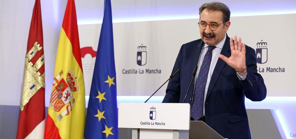 El consejero de Sanidad de Castilla-La Mancha en funciones, Jesús Fernández Sanz | Foto: Sescam