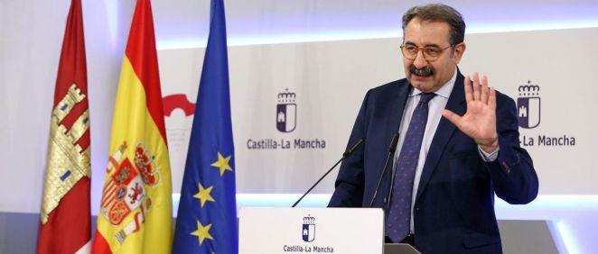 El consejero de Sanidad de Castilla-La Mancha en funciones, Jesús Fernández Sanz   Foto: Sescam