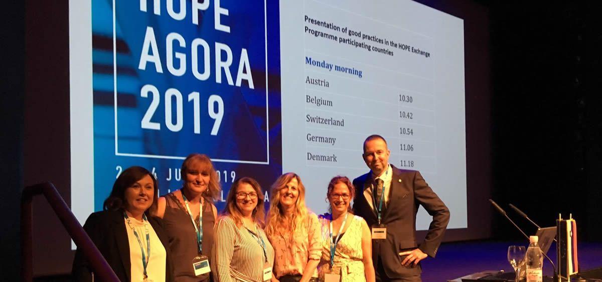 Los profesionales que han participado en el Programa Europeo (Foto de ConSalud)