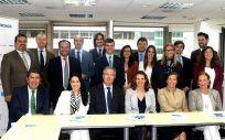Comité de Innovación de IDIS, entre los miembros del patronato y representantes del equipo de Boston Scientific | Foto: Fundación IDIS