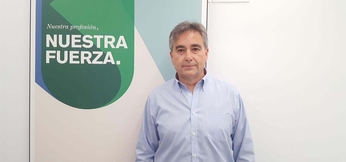 El presidente del Sindicato de Enfermería (Satse), Manuel Cascos (Foto. Satse)