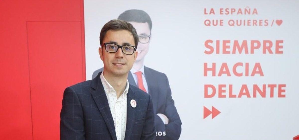 El líder del PSOE de Salamanca, José Luis Mateos.  / Foto: @joseluismateos