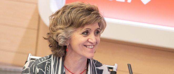 María Luisa Carcedo, ministra de Sanidad en funciones (Foto. Flickr PSOE)