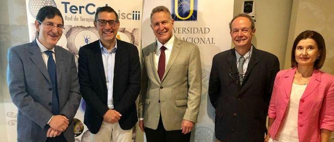 Foto de la inauguración del curso (MurciaSalud)