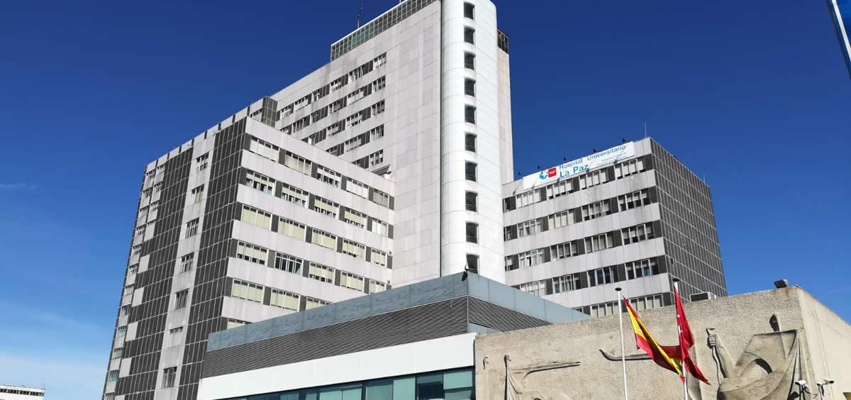 Fachada del Hospital La Paz (ConSalud.es)
