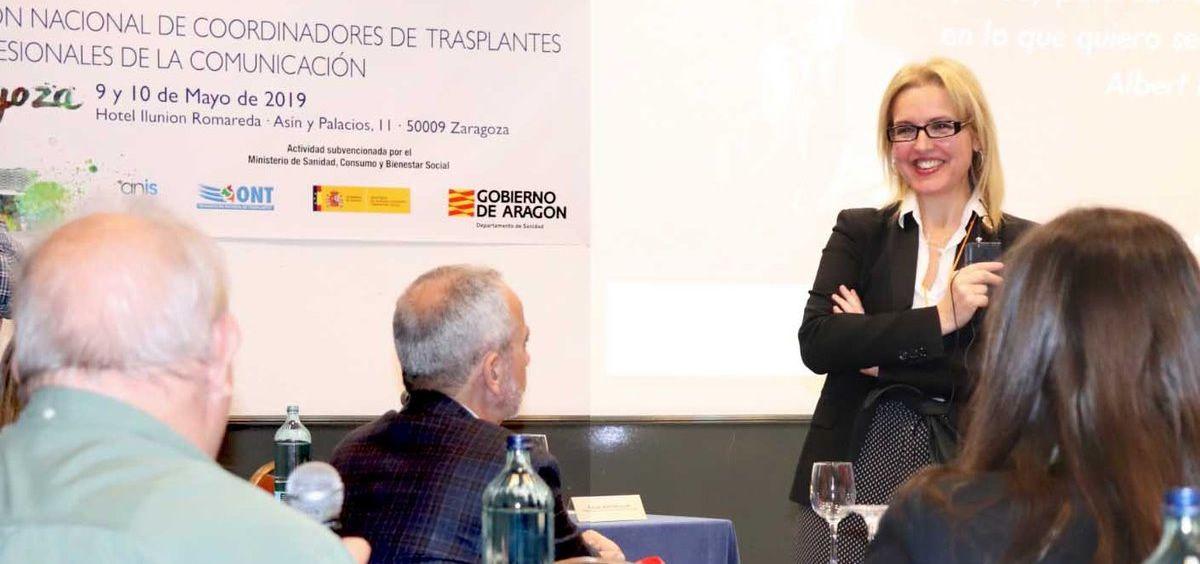 Beatriz Domínguez Gil, directora de la Organización Nacional de Trasplantes | Foto: Twitter ONT (@ONT_esp)