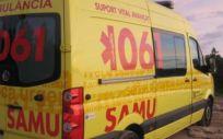 Ambulancia del 061 en Baleares