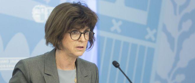 Nekane Murga, consejera de Salud del País Vasco (Foto. Gobierno del País Vasco)