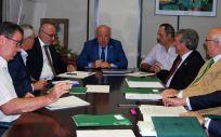 Reunión mantenida entre el Consejo Andaluz de Colegios de Médicos (Cacm) y la Consejería de Salud sobre el Programa de Atención Integral al Médico Enfermo. (Consejo Andaluz de Colegios de Médicos)