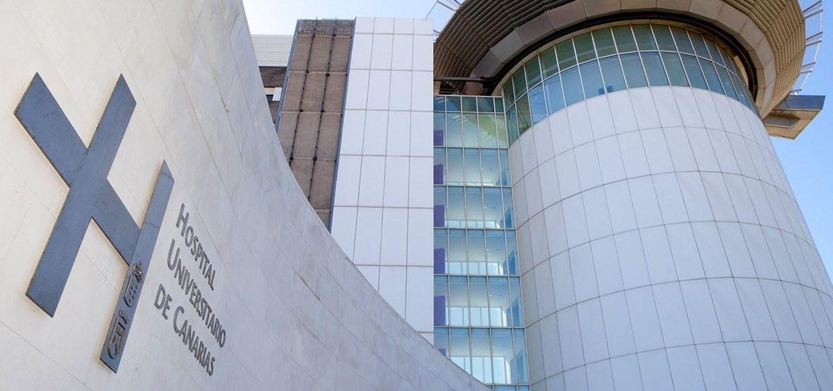 Fachada del Hospital Universitario de Canarias (Foto. Satse)