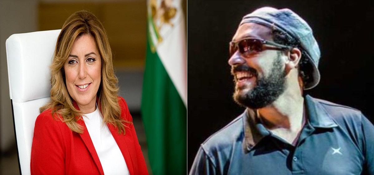 Susana Díaz y Spiriman (Fotomontaje ConSalud.es)
