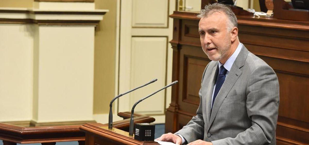 Ángel Víctor Torres, candidato del PSOE a presidir el Gobierno de Canarias (Foto: @PSOECanarias)