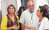 La consejera de Salud visita las nuevas instalaciones del Centro de Salud Mental de Adultos Santa Coloma de Gramenet (Foto. Consejería de Salud)
