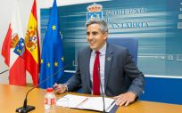 El vicepresidente del Gobierno de Cantabria, Pablo Zuloaga, ha informado de los acuerdos adoptados en el primer Consejo de Gobierno de esta legislatura (Foto. Raúl Lucio - Gobierno de Cantabria)