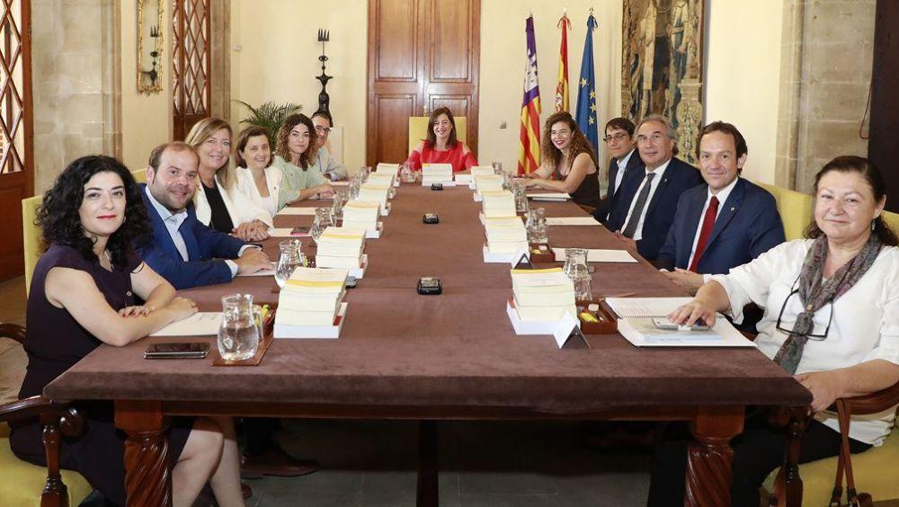 Integrantes del Consejo de Gobierno de las Islas Baleares (Foto: Gobierno de Baleares)