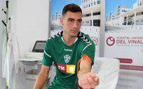 Jugador del Elche CF (Foto. ConSalud.es)