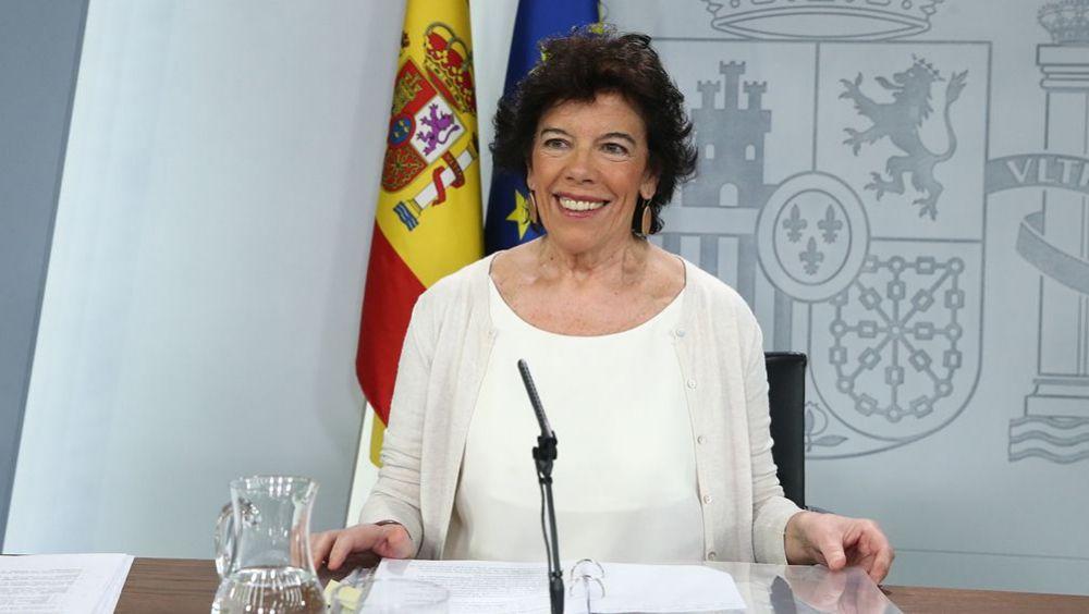 Isabel Celaá, portavoz del Gobierno en funciones (Foto: Pool Moncloa / Fernando Calvo)