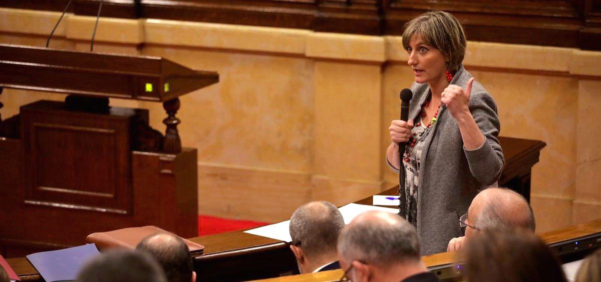 Alba Vergés. consejera de Salud de Cataluña (Foto: @albaverges)