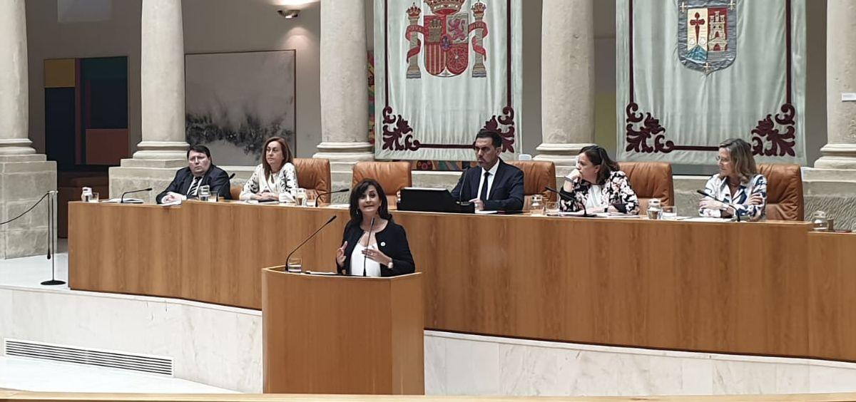 Concha Andreu, candidata del PSOE a presidir La Rioja (Foto: @PSOELaRioja)
