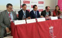 De izquierda a derecha: Antonio López Farré, José Manuel García García, José Luis Enríquez, Joaquín Poch Broto y Khaoula Zekri (Foto: Juanjo Carrillo Córdoba - ConSalud.es)