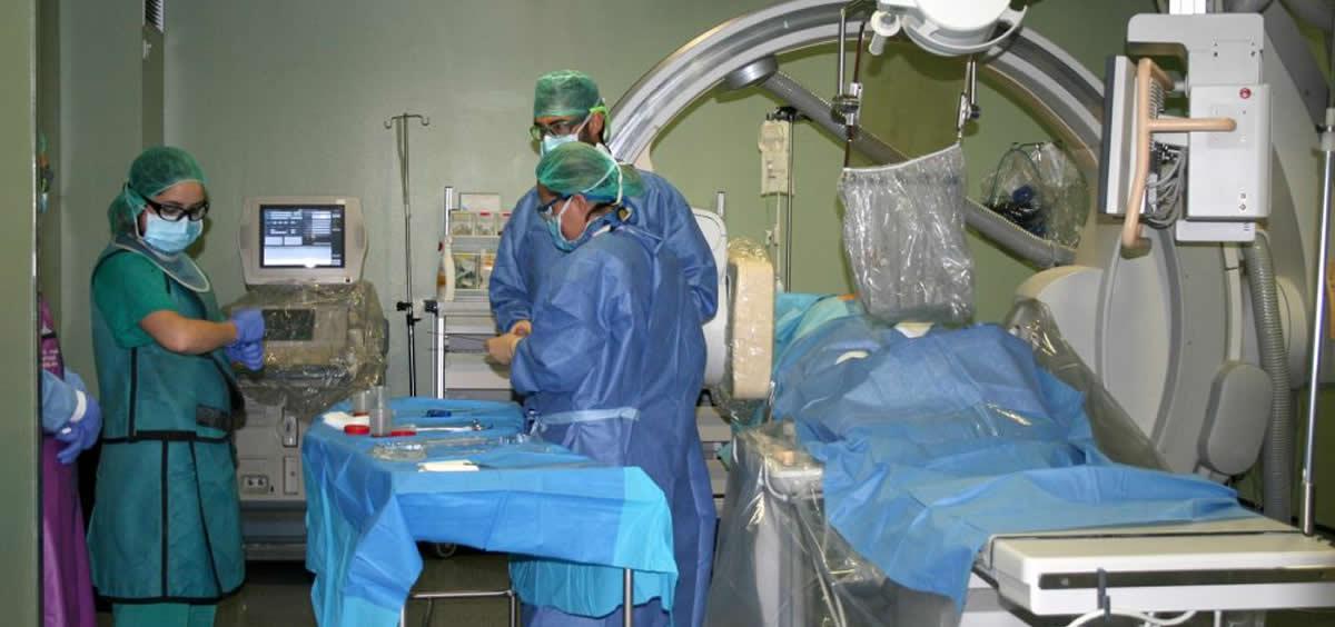 Unidad de Radiología Vascular e Intervencionista del Hospital La Candelaria (Foto. Gobierno de Canarias)