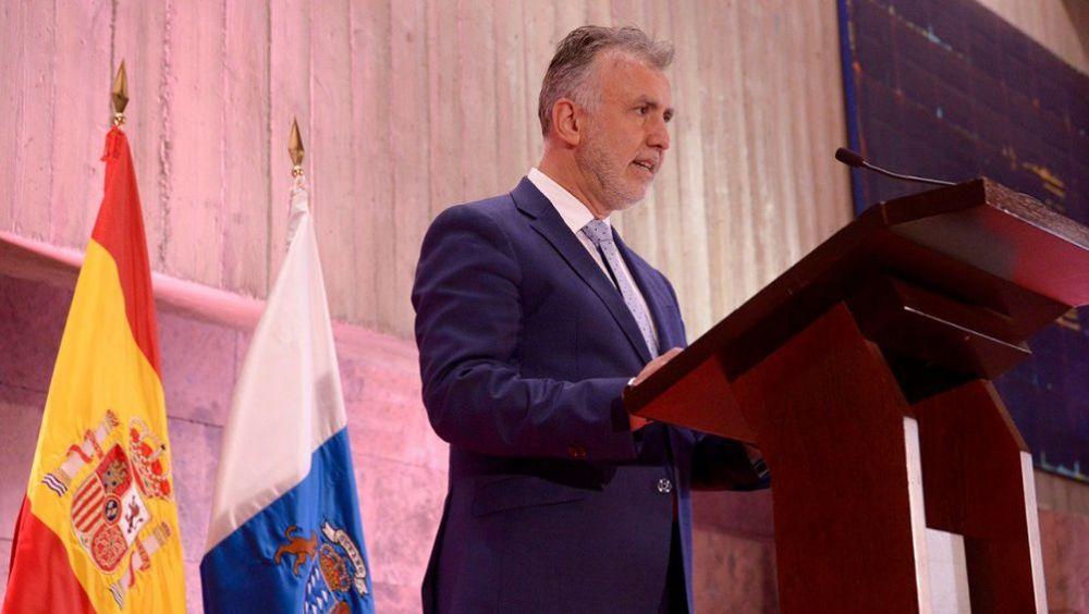 Ángel Víctor Torres, nuevo presidente de Canarias (Foto: @PresiCan)