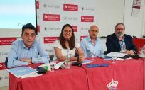 De izquierda a derecha: Sergio Alonso, María Fernández Santiago, Alipio Gutiérrez y Juan Blanco (Foto: Juanjo Carrillo Córdoba - ConSalud.es)