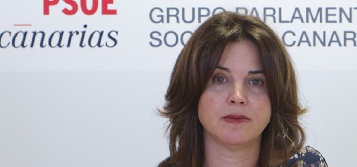 Teresa Cruz Oval, nueva consejera de Sanidad en las Islas Canarias (Foto. PSOE Canarias)