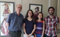Grupo de investigadores (Foto. Ciberesp)