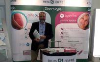 El doctor Jordi Ponce, durante el Congreso de la SEGO celebrado en Málaga.