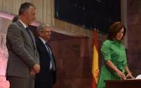 Teresa Cruz Oval toma posesión como consejera de Sanidad (Foto. Parlamento Canario)