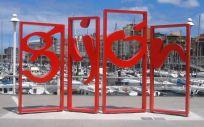 Ciudad de Gijón (Foto. Wikipedia)