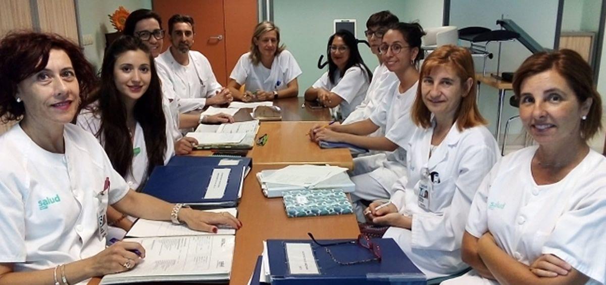 Reunión multidisciplinar de trabajo de la Unidad de Lesión Medular del Servet (Foto. Gobierno de Aragón)